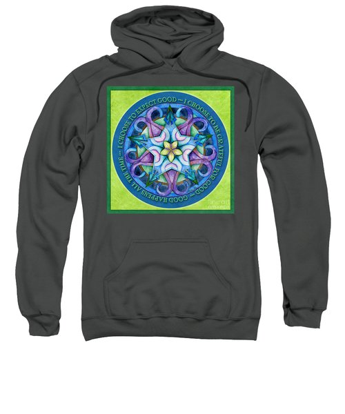 Good Happens Mandala Prayer Sweatshirt