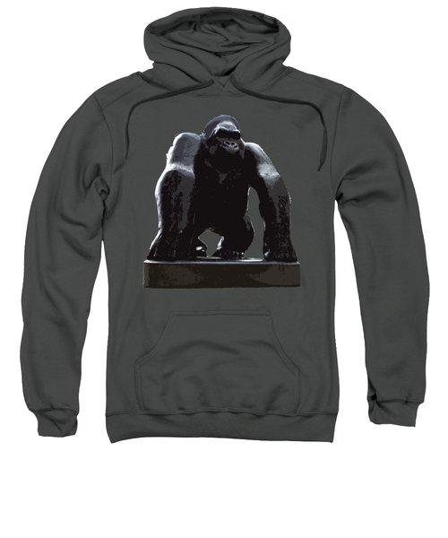 Gorilla Art Sweatshirt by Francesca Mackenney