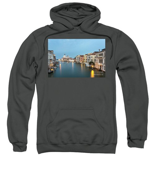 Grand Canal In Venice, Italy Sweatshirt