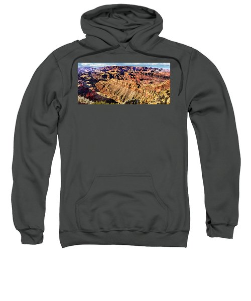 Grand Canyon Afternoon At Lipan Point Sweatshirt
