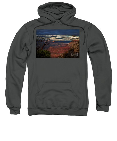 Grand Canyon Storm Clouds Sweatshirt