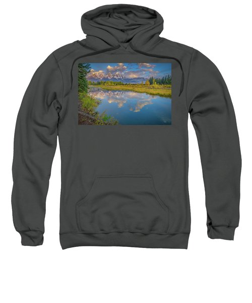 Grand Teton Morning Reflection Sweatshirt