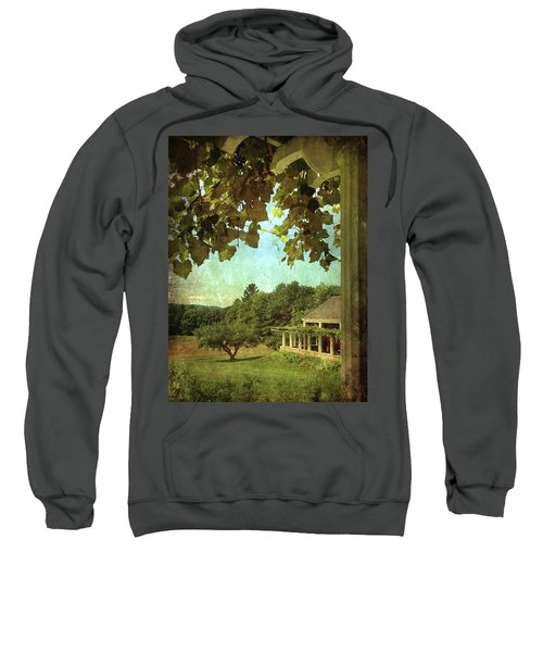 Grapes On Arbor  Sweatshirt