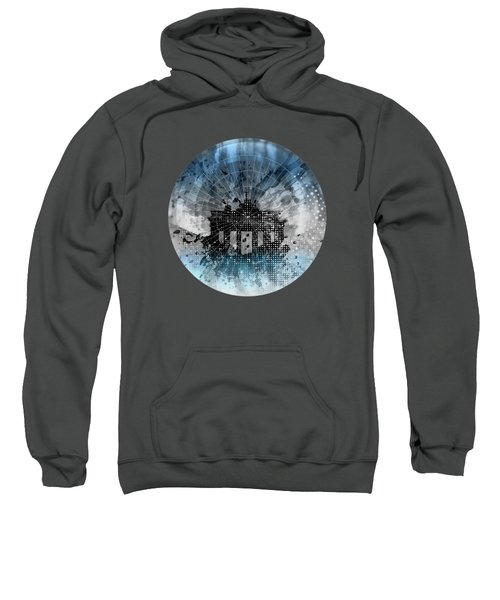 Graphic Art Berlin Brandenburg Gate Sweatshirt