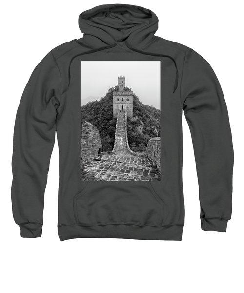 Sweatshirt featuring the photograph Great Wall 1, Jinshanling, 2016 by Hitendra SINKAR
