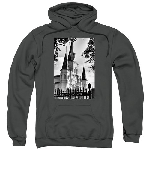 Grayscale St. Louis Cathedral Sweatshirt