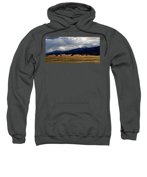 Great Sand Dunes Panorama Sweatshirt