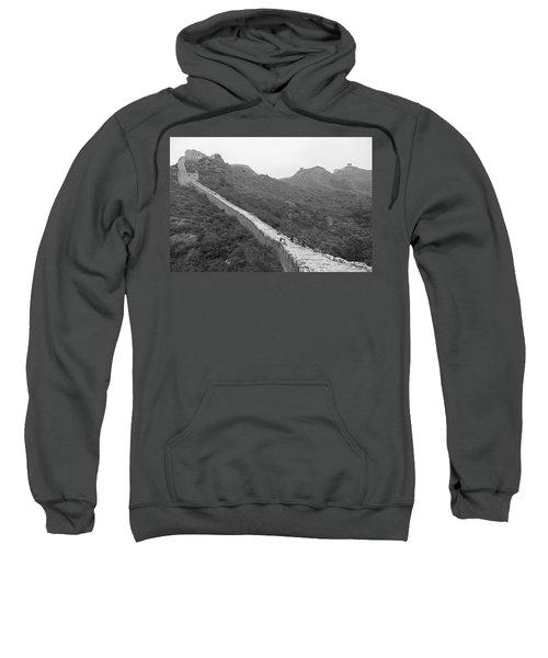 Sweatshirt featuring the photograph Great Wall 4, Jinshanling, 2016 by Hitendra SINKAR