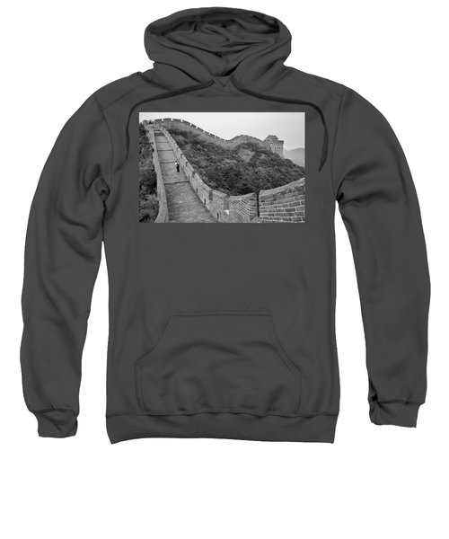 Sweatshirt featuring the photograph Great Wall 9, Jinshanling, 2016 by Hitendra SINKAR