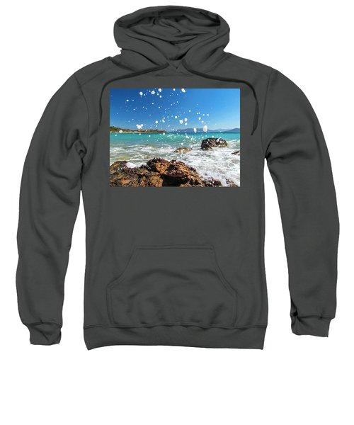 Greek Surf Spray Sweatshirt