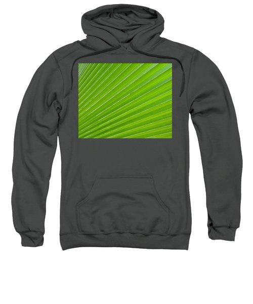 Green Abstract No. 1 Sweatshirt