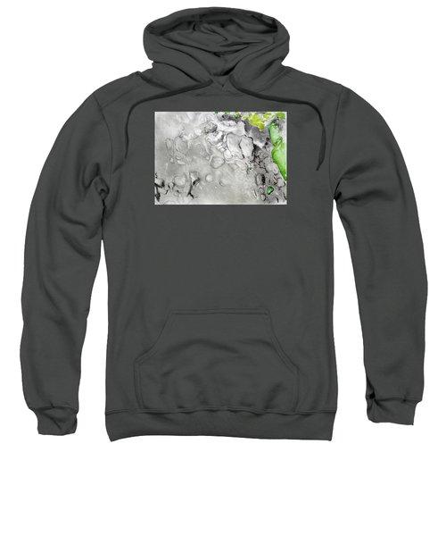 Green And Gray Stones Sweatshirt