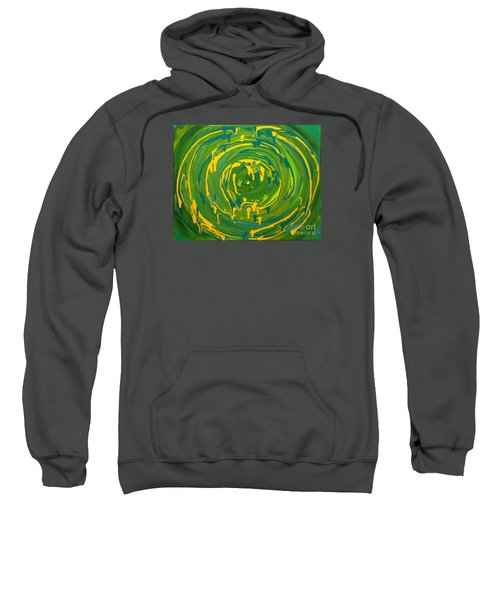 Green Forest Swirl Sweatshirt