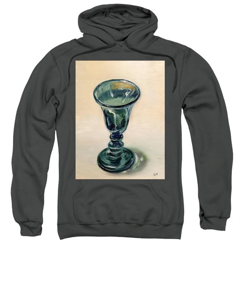 Green Glass Goblet Sweatshirt