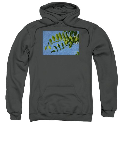 Green Leaves 2 Sweatshirt