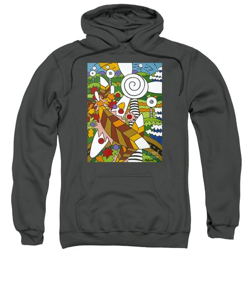 Green Power Sweatshirt