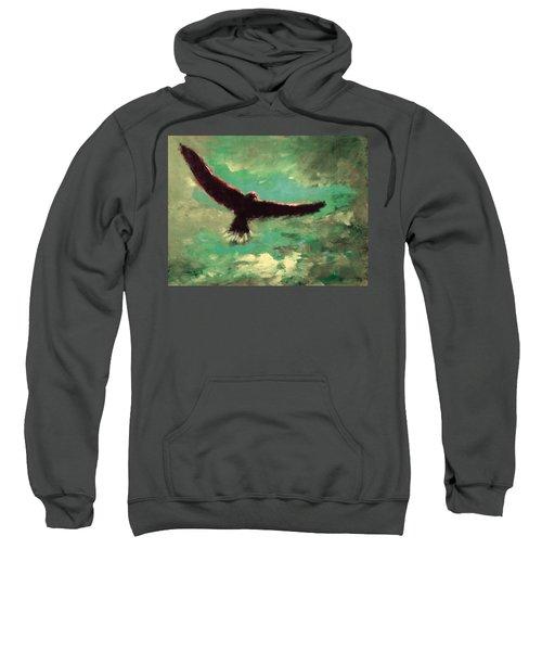 Green Sky Sweatshirt
