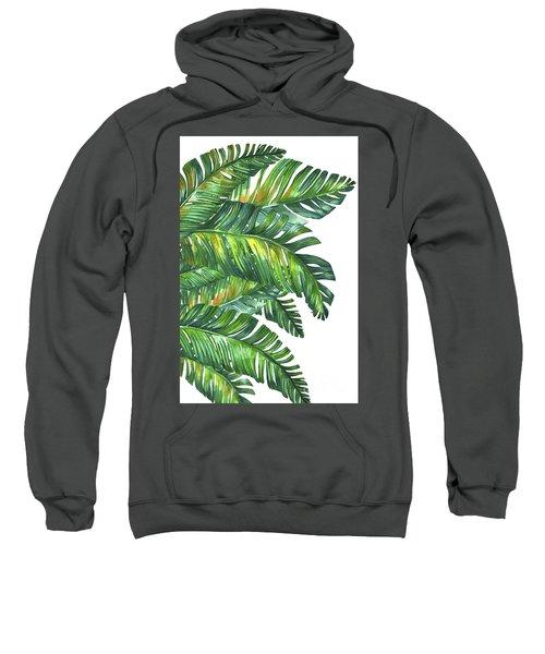 Green Tropic  Sweatshirt