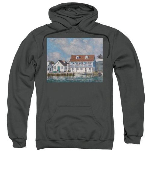 Green Turtle Cay Past And Present Sweatshirt