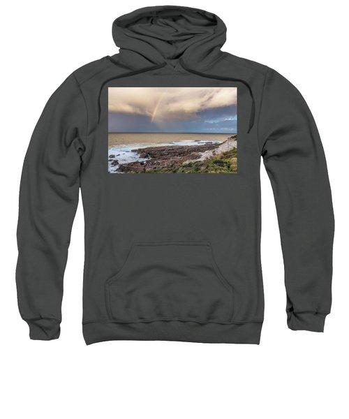 Green Cape Rainbow Sweatshirt