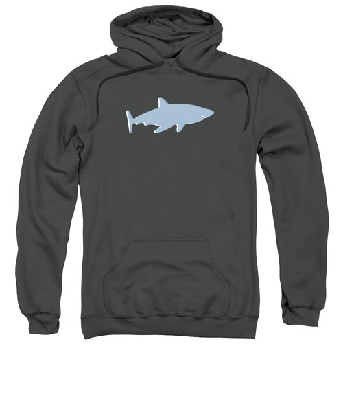 Grey And Yellow Shark Sweatshirt