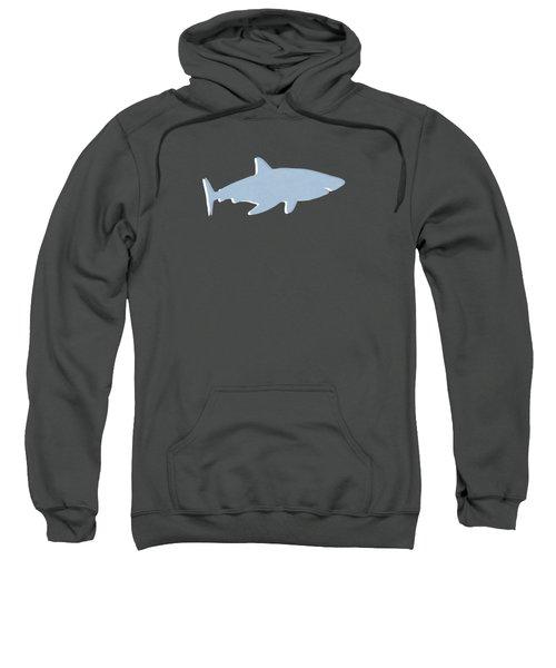 Grey And Yellow Shark Sweatshirt