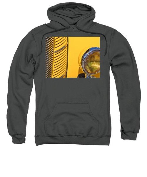 Grilled Chrome To Yellow Sweatshirt