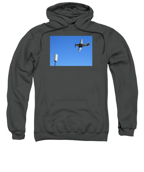 Grim Reaper.  P51d.  Not Just Your Father's Show Plane Sweatshirt