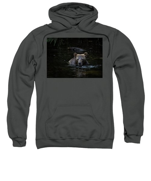 Grizzly Swimmer Sweatshirt