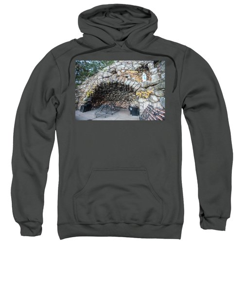 Grotto Of Our Lady Of Lourdes 2 Sweatshirt
