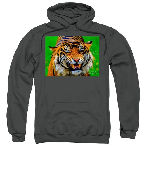 Growling Tiger Sweatshirt