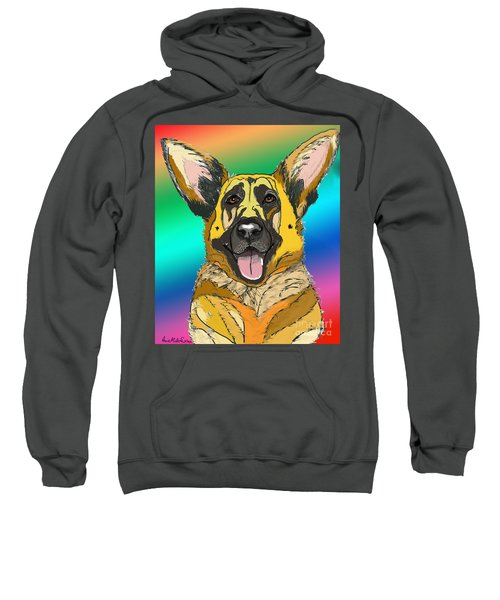 Gsd In Digi Yellow Sweatshirt