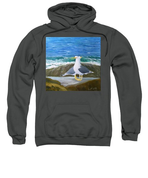 Guarding The Land And Sea Sweatshirt