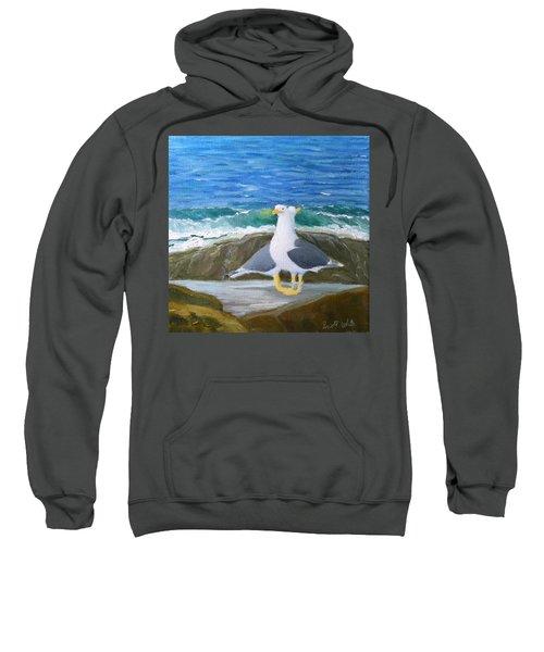Guarding The Land And Sea Sweatshirt