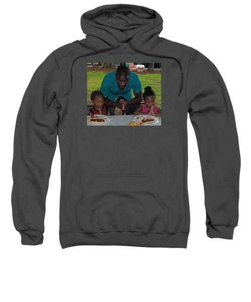 Guest Family Praying Sweatshirt