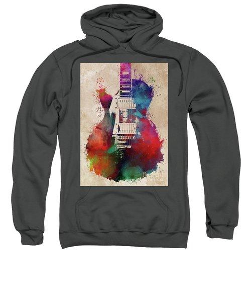 Guitar Art  Sweatshirt