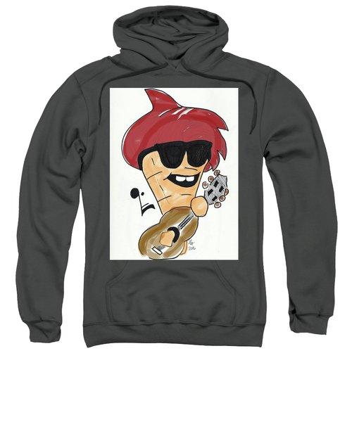Guitar Ice Cream Sweatshirt