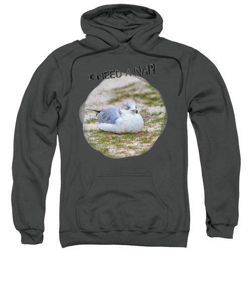 Gull Nap Time Sweatshirt by John M Bailey
