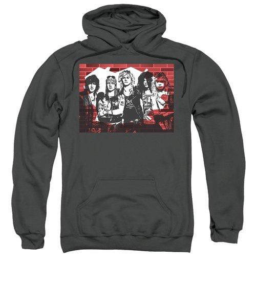 Guns N Roses Graffiti Tribute Sweatshirt