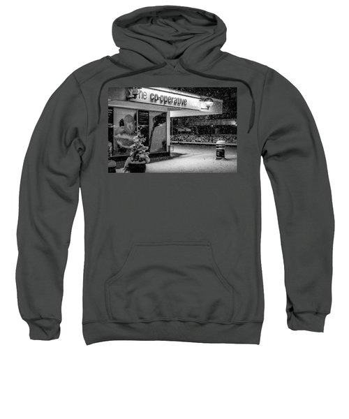 Hale Barns Co-op In The Snow Sweatshirt