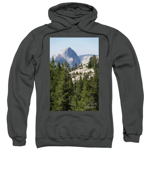 Half Dome And Yosemite Valley From Olmsted Point Tioga Pass Yosemite California Dsc04236 Sweatshirt