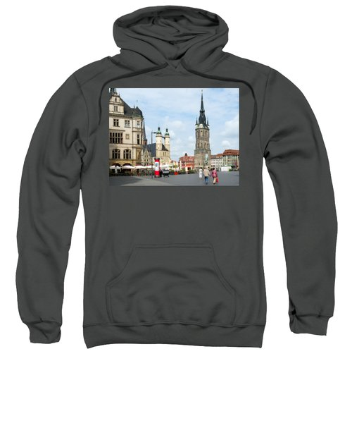 Halle Germany Downtown Square Sweatshirt