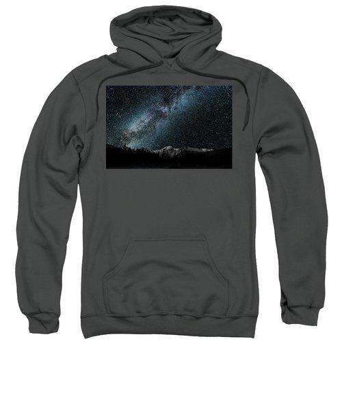 Hallet Peak - Milky Way Sweatshirt