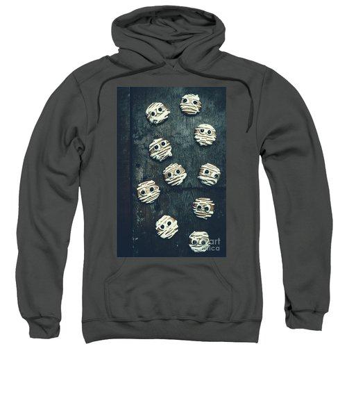 Halloween Mummy Cookies Sweatshirt