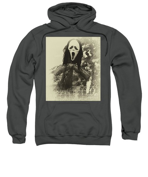 Halloween No 1 - The Scream  Sweatshirt