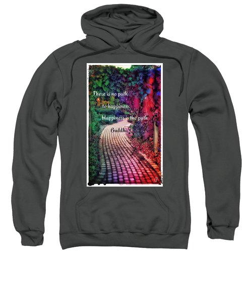 Happiness Path Sweatshirt
