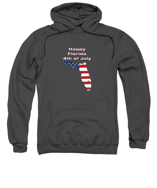 Happy Florida 4th Of July Sweatshirt