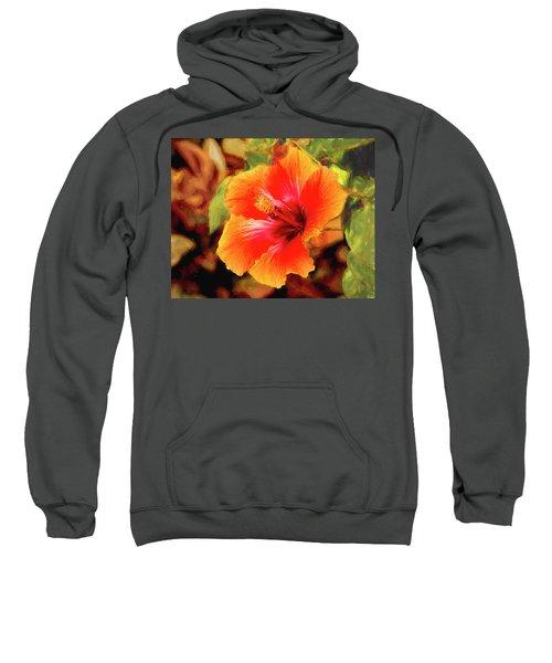 Happy Hibiscus Sweatshirt