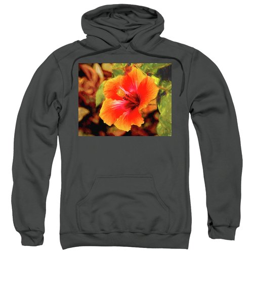 Happy Hibiscus Sweatshirt