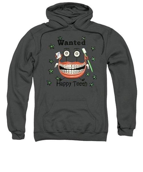 Happy Teeth T-shirt Sweatshirt